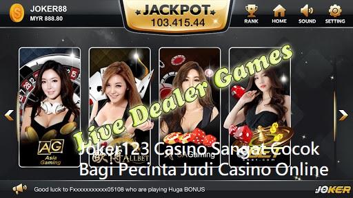 Joker123 Casino Sangat Cocok Bagi Pecinta Judi Casino Online