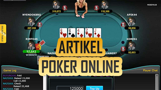 Keuntungan Bermain Poker Online Penghasil Uang